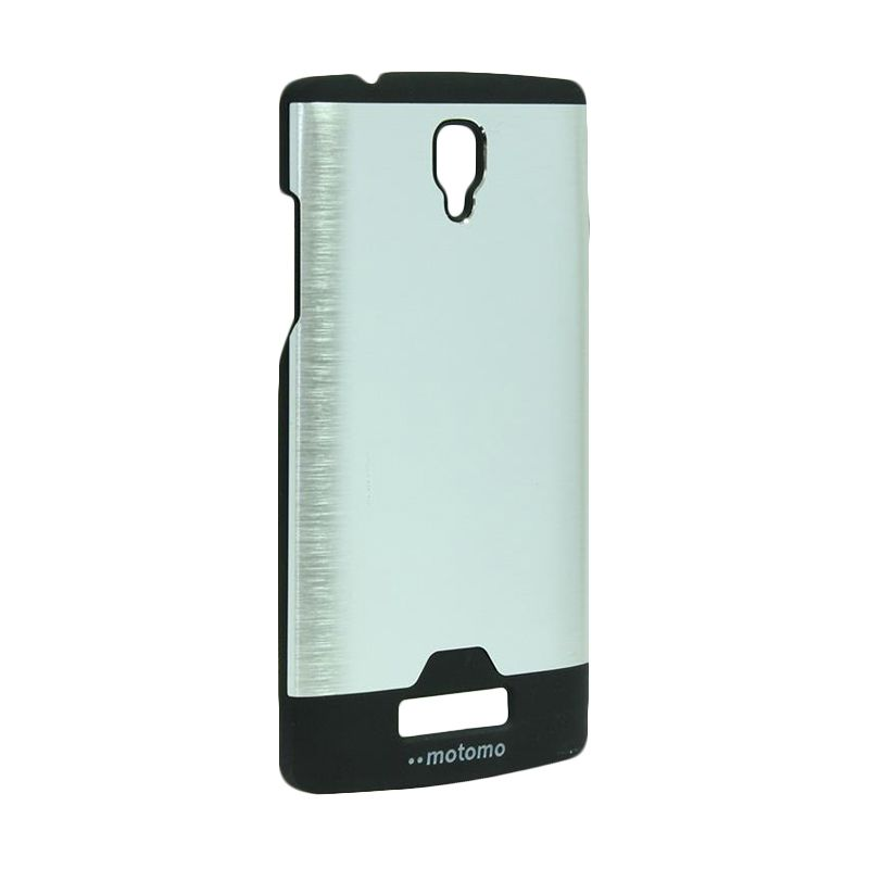 Motomo Ino Metal Silver Casing for Oppo Neo R831
