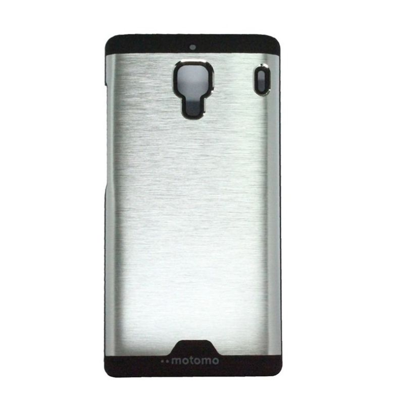 Motomo Ino Silver Metal Casing for Xiaomi Redmi 1S