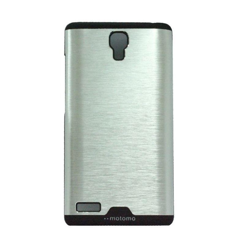 Motomo Ino Silver Metal Casing for Xiaomi Redmi Note