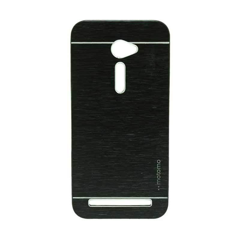 Motomo Metal Black Casing for Asus Zenfone 2 ZE500CL [5 Inch]