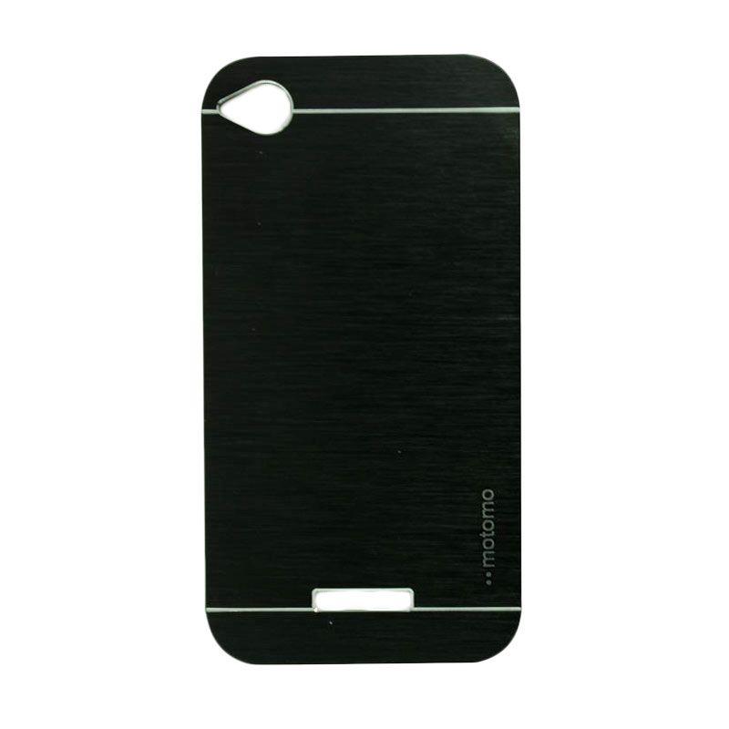 Motomo Metal Black Casing for HTC Desire 320