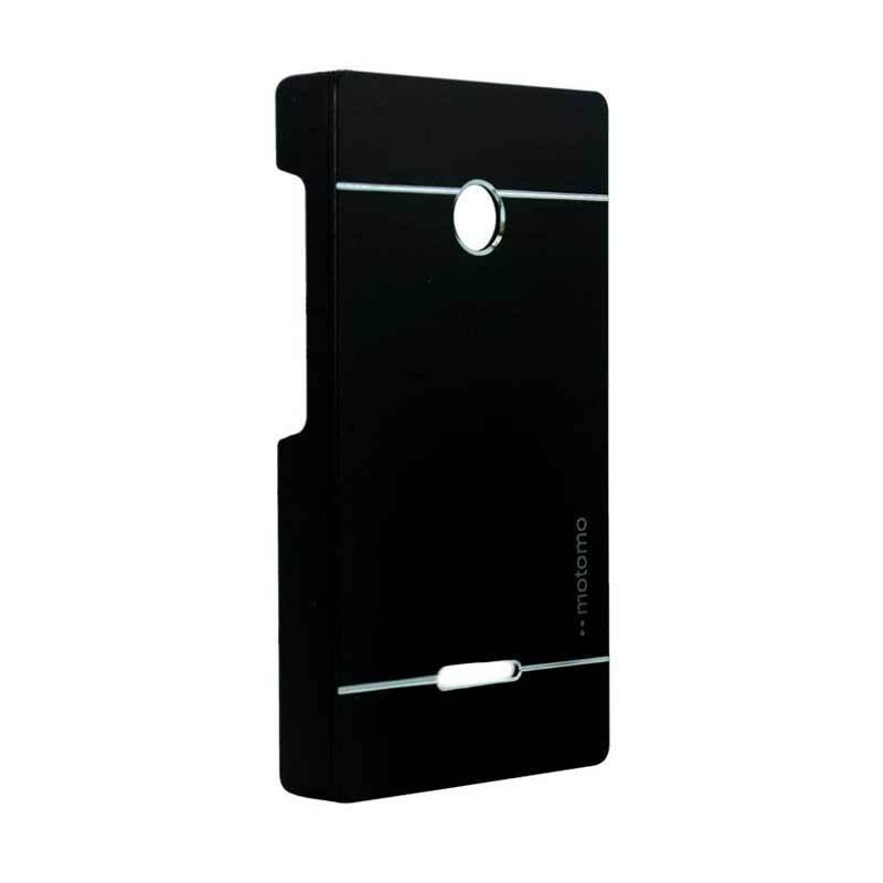 Motomo Metal Black Casing for Lumia 435