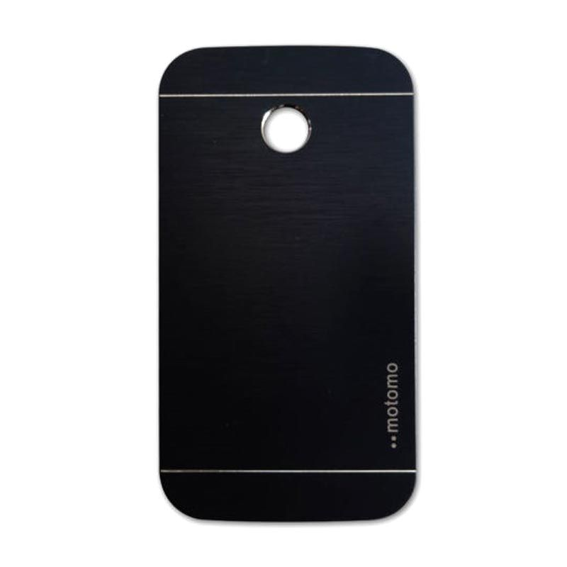 Motomo Metal Black Casing for Motorola Moto E