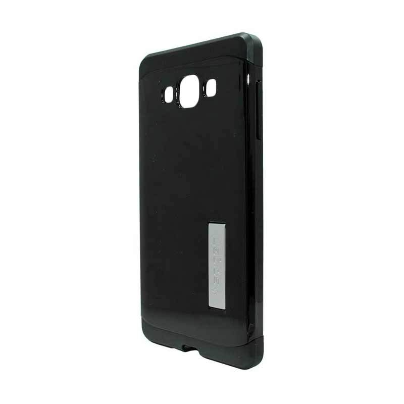 Motomo Metal Black Casing for Samsung Galaxy E7 E700