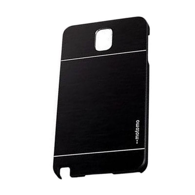 Motomo Metal Black Casing for Samsung Galaxy Note 4