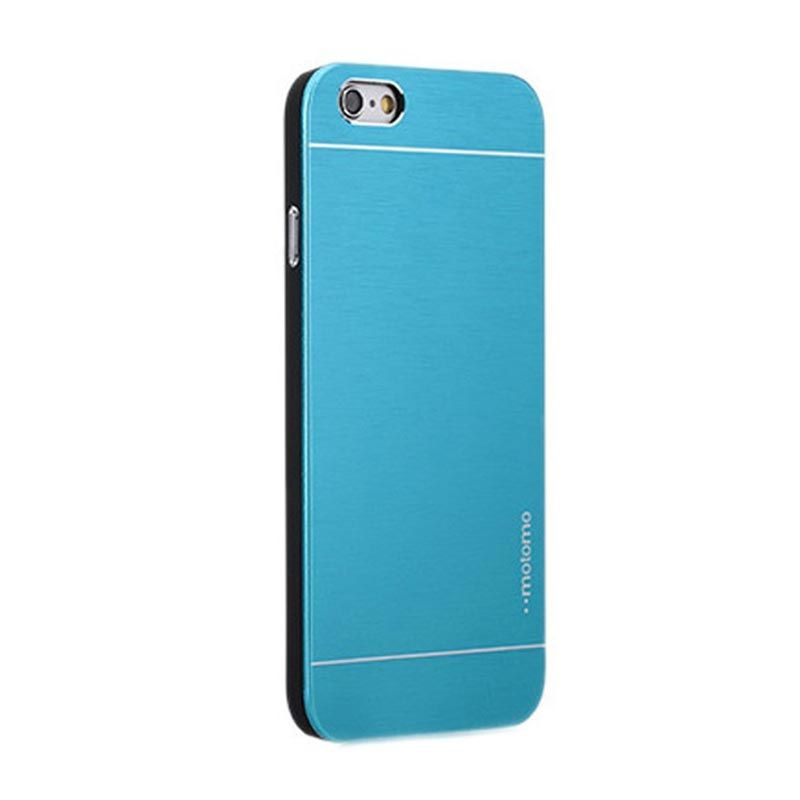 Motomo Metal Blue Casing for iPhone 6