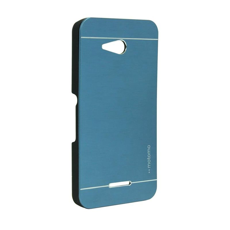 Motomo Metal Case Dark Blue for Sony Xperia E4G