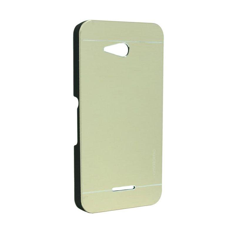 Motomo Metal Case Gold for Sony Xperia E4G