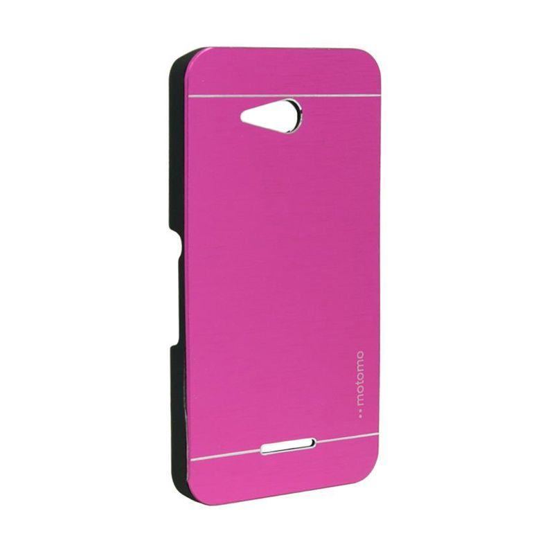 Motomo Metal Case Hot Pink for Sony Xperia E4G
