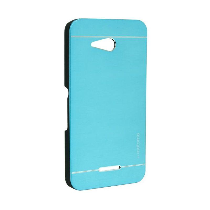 Motomo Metal Case Light Blue for Sony Xperia E4G