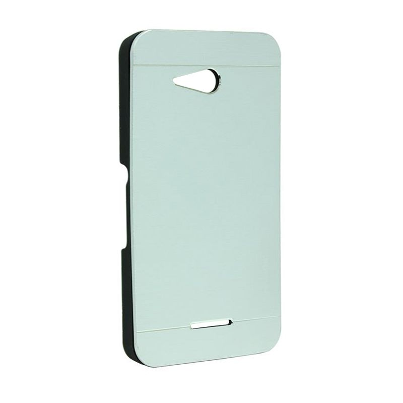 Motomo Metal Case Silver for Sony Xperia E4G