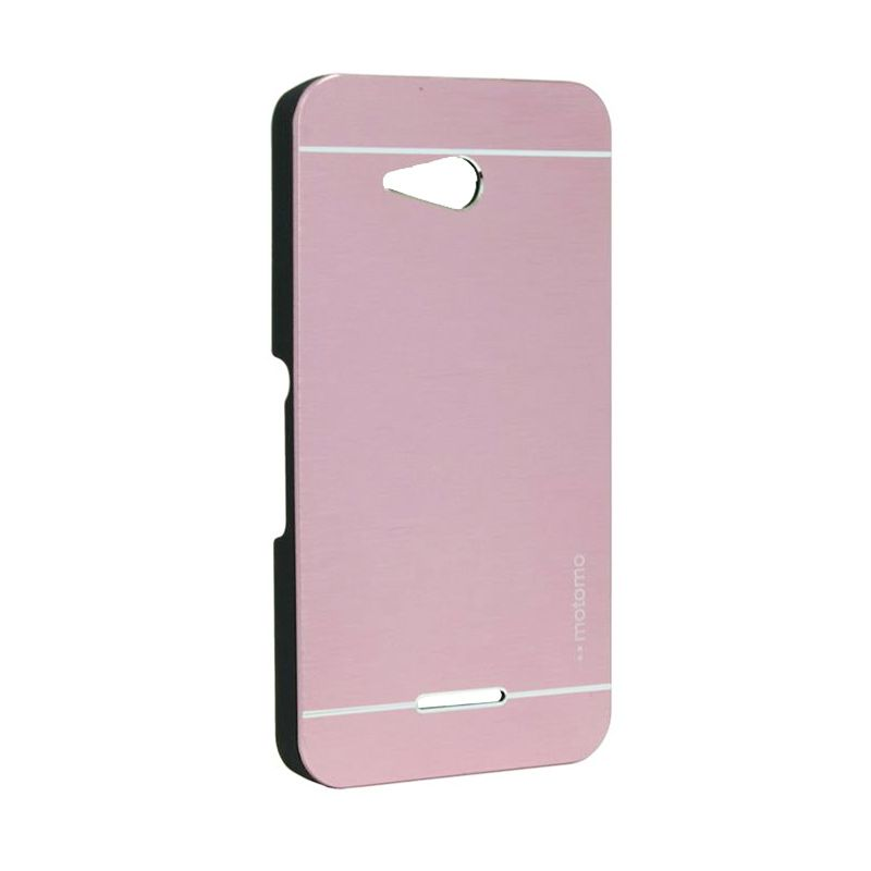 Motomo Metal Case Soft Pink for Sony Xperia E4G