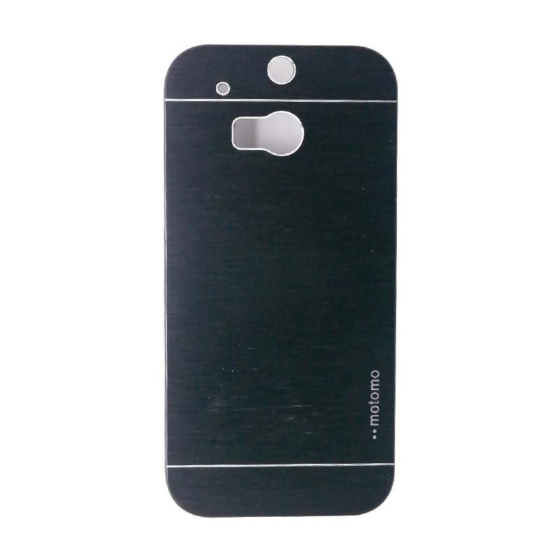 Motomo Black Metal Casing for HTC One M8