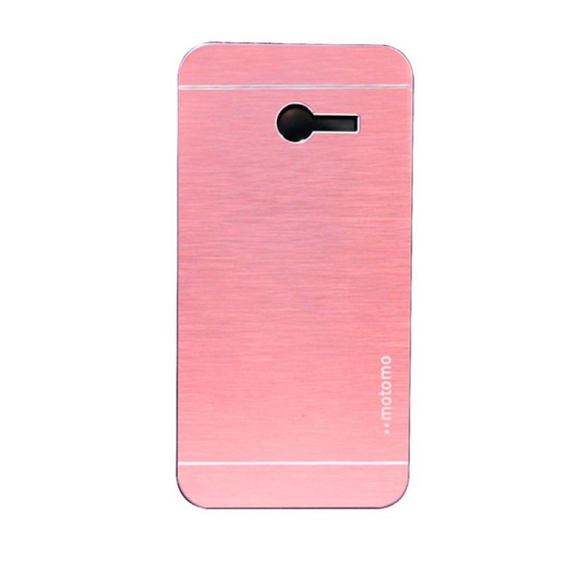 Motomo Pink Metal Casing for Asus Zenfone 4