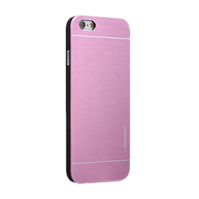 Motomo Pink Metal Casing for iPhone 4 or 4S