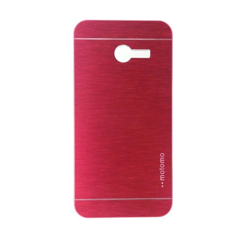 Motomo Metal Casing Red for Asus Zenfone 4