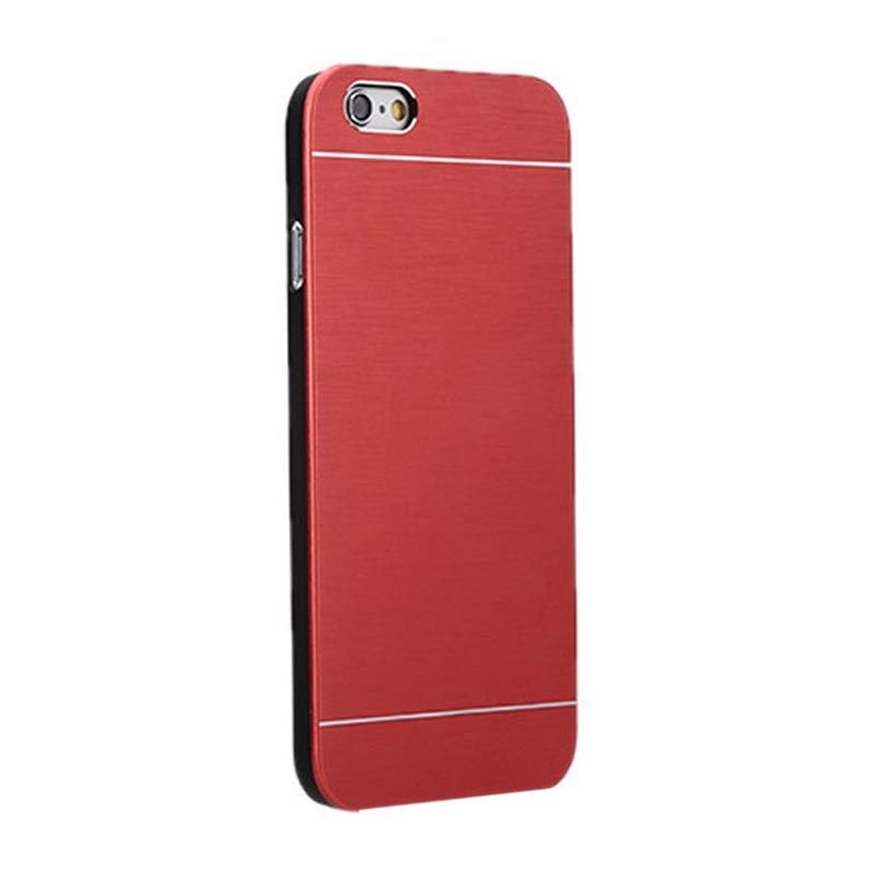 Motomo Red Metal Casing for iPhone 4 or 4S