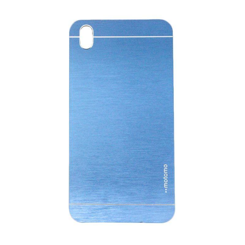 Motomo Metal Dark Blue Casing for HTC 816 Desire