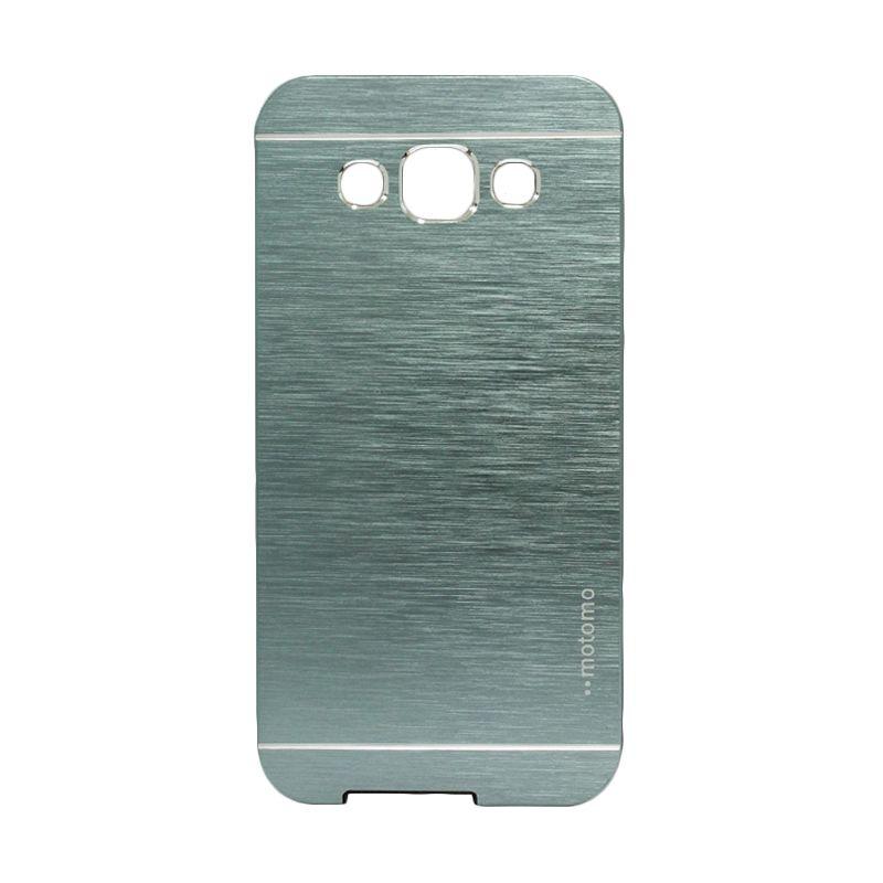 Motomo Metal Dark Blue Casing for Samsung Galaxy E5
