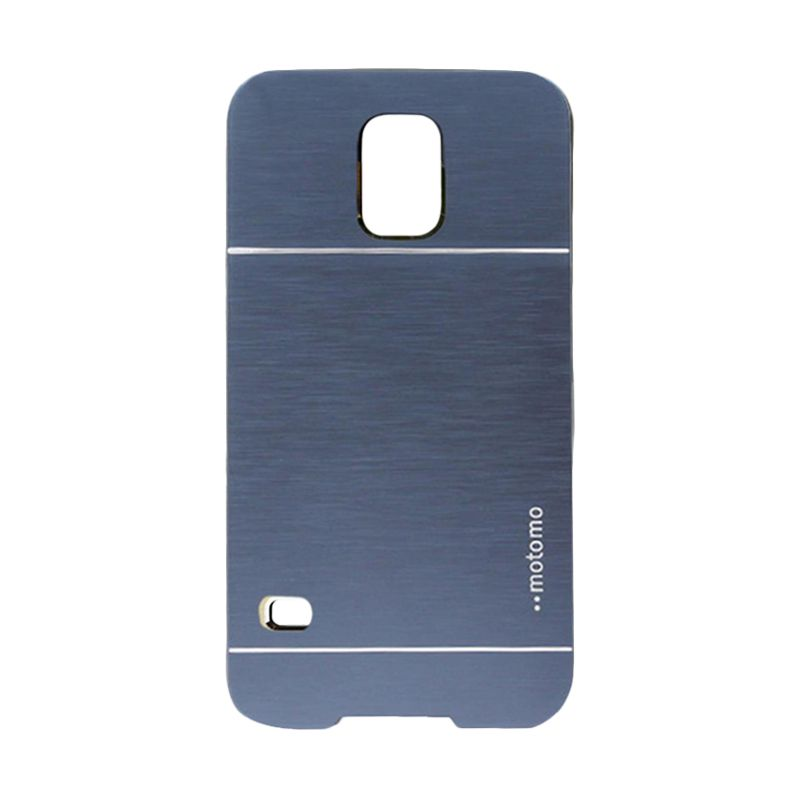 Motomo Metal Dark Blue Casing for Samsung Galaxy S5