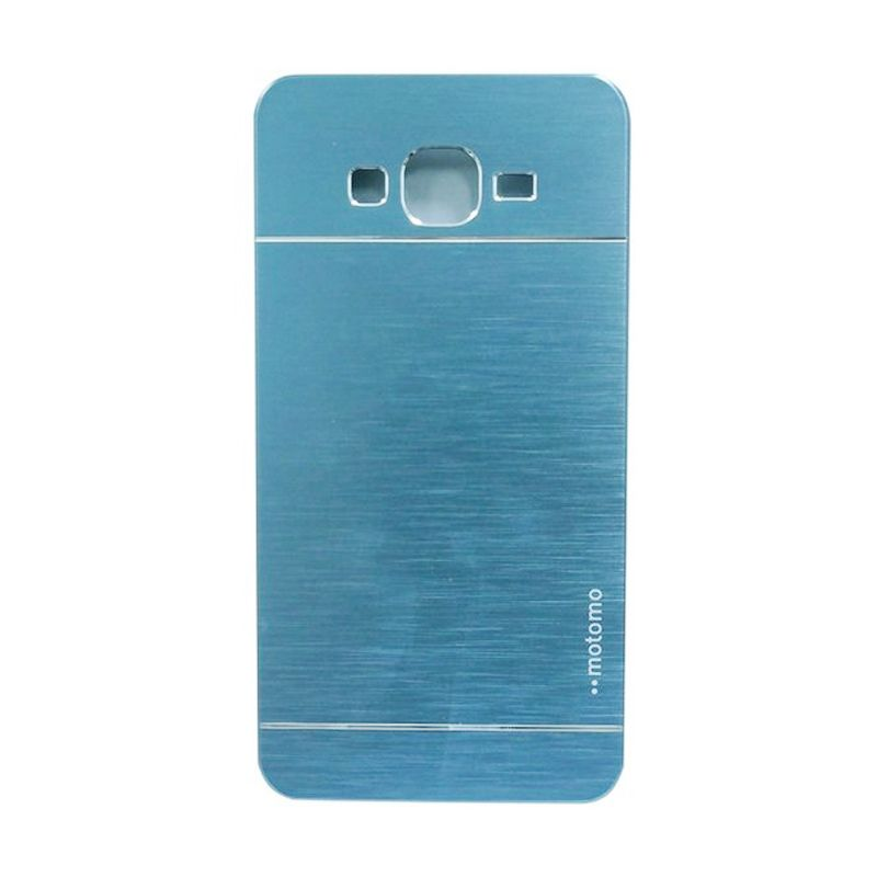 Motomo Metal Dark Blue Casing for Samsung Galaxy Core Plus