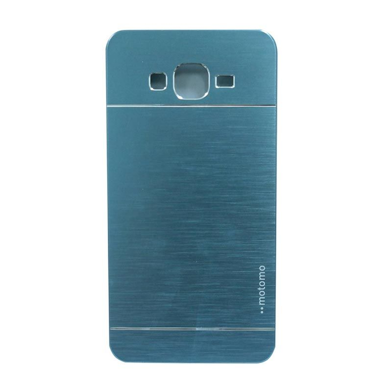 Motomo Metal Dark Blue Casing for Samsung Galaxy Grand 2 (G7106)