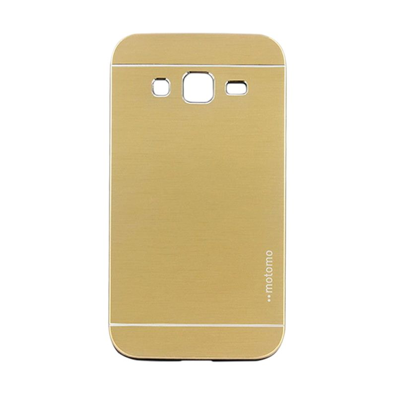 Motomo Metal Gold Casing for Samsung  Galaxy Core Prime