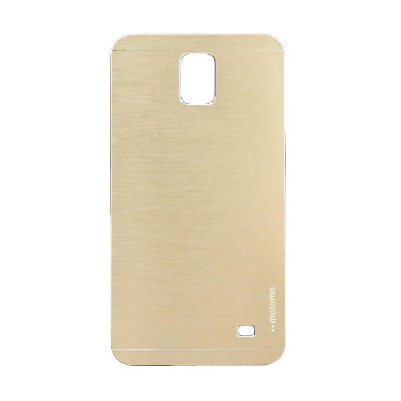 Motomo Metal Gold Casing for Samsung  Galaxy Mega 2