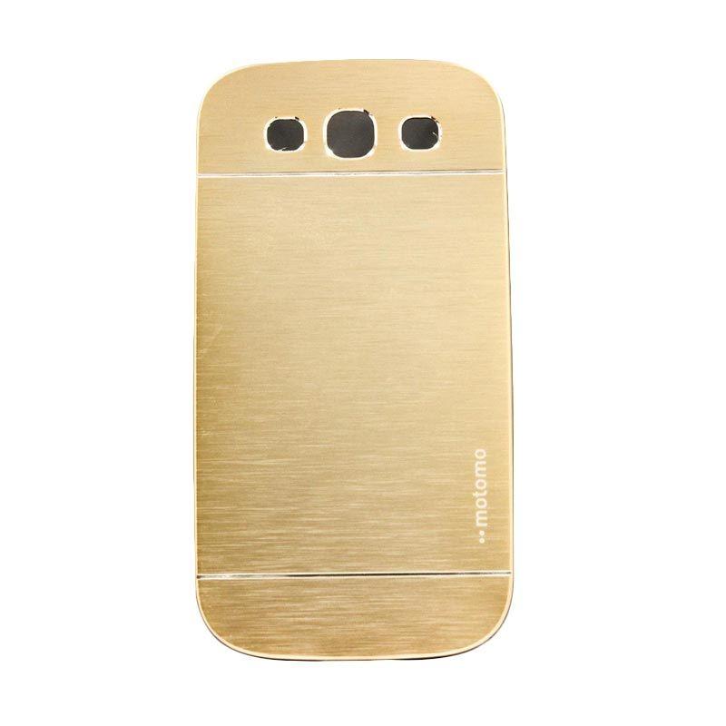 Motomo Metal Gold Casing for Samsung Galaxy S3