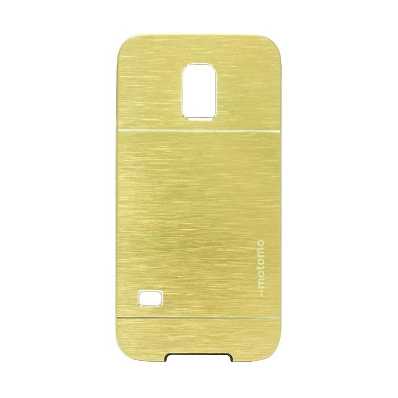 Motomo Metal Gold Casing for Samsung Galaxy S5 Mini