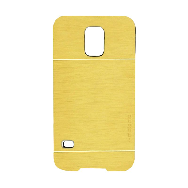 Motomo Metal Gold Casing for Samsung Galaxy S5