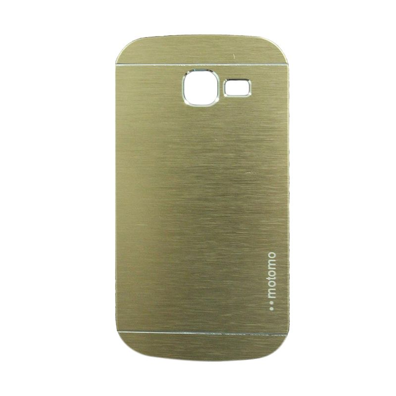 Motomo Metal Gold Casing for Samsung Galaxy Trend