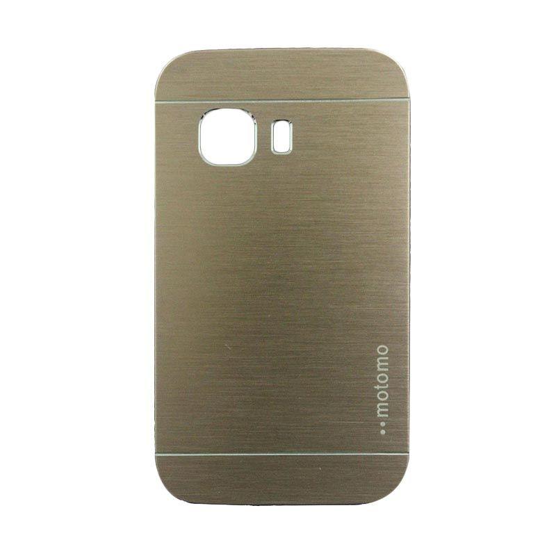 Motomo Metal Gold Casing for Samsung Galaxy Young 2