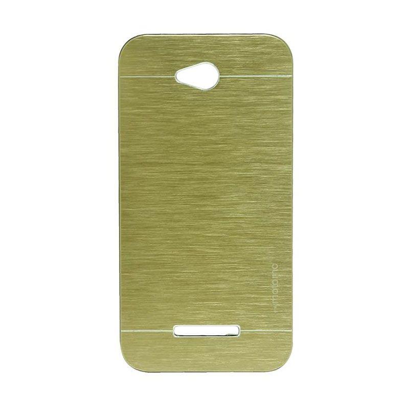 Motomo Metal Gold Casing for HTC Desire 616