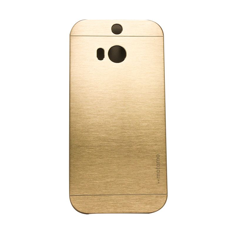 Motomo Metal Gold Casing for HTC One M8