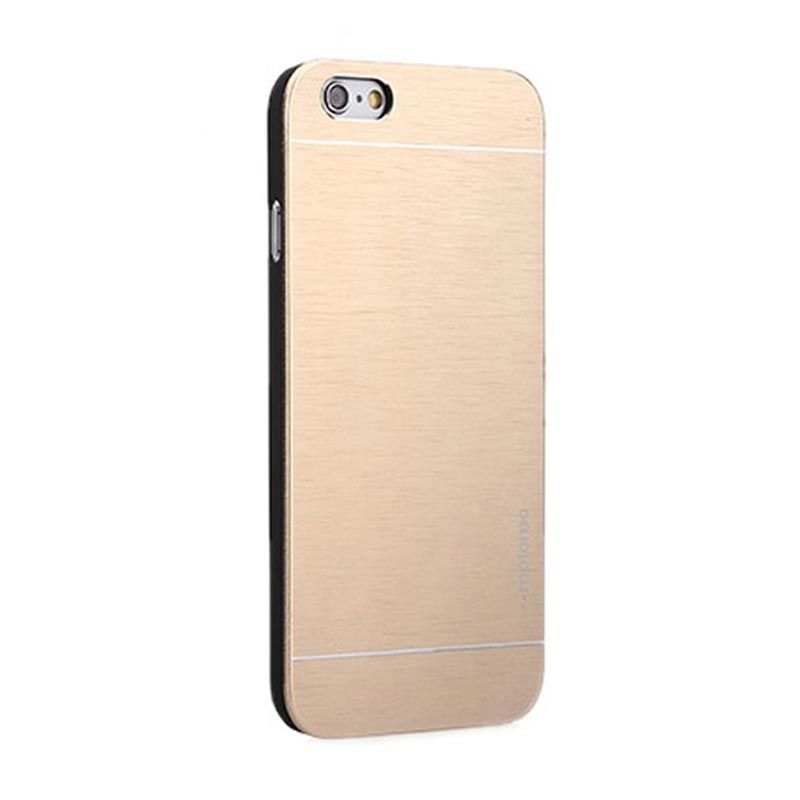 Motomo Metal Gold Casing for iPhone 5 or 5S