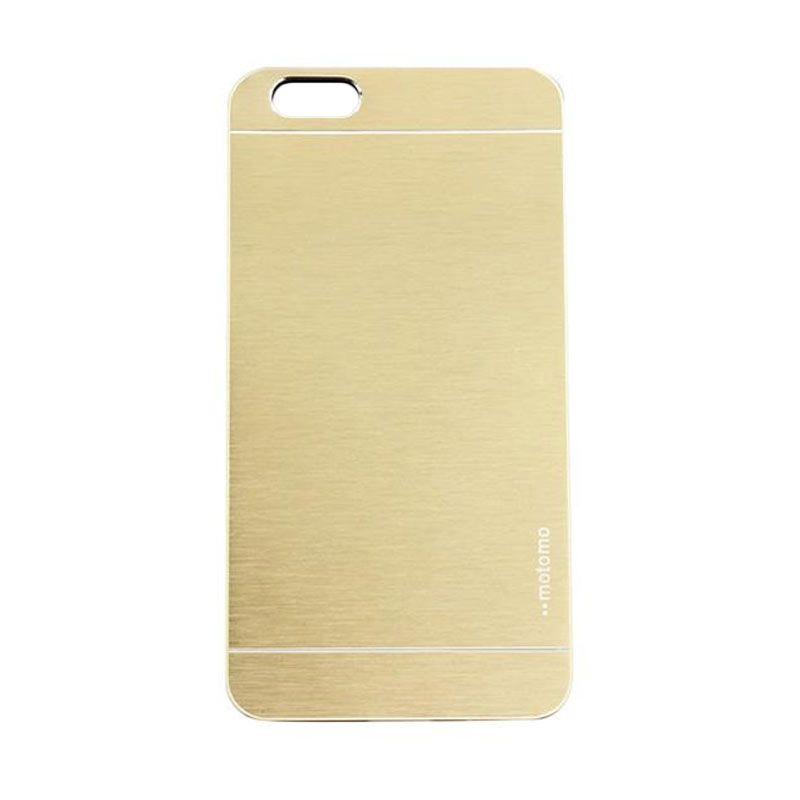 Motomo Metal Gold Casing for iPhone 6