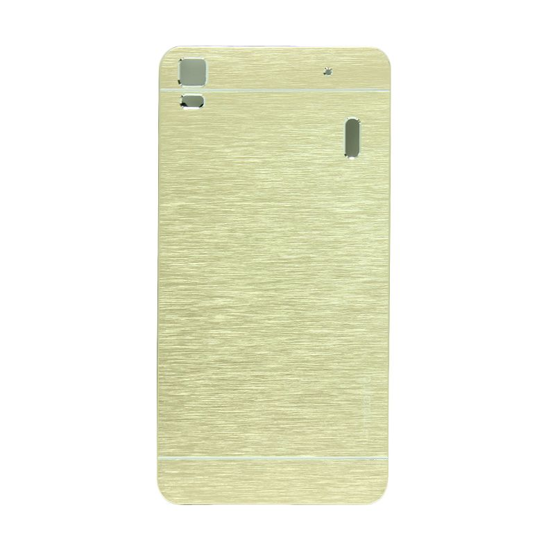 Motomo Metal Gold Casing for Lenovo A7000