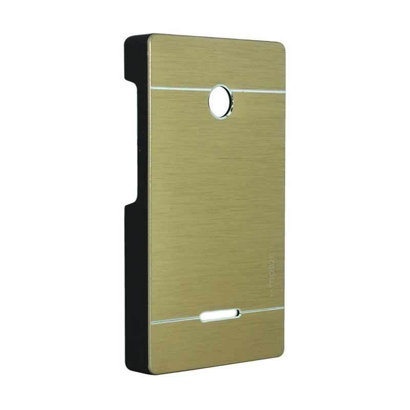Motomo Metal Gold Casing for Lumia 435