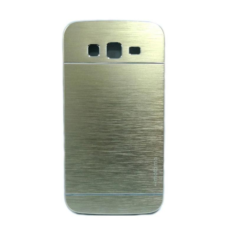 Motomo Metal Gold Casing for Samsung Galaxy A3