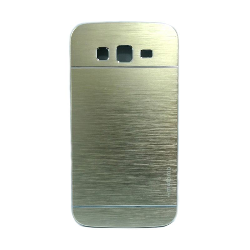 Motomo Metal Gold Casing for Samsung Galaxy Core Plus