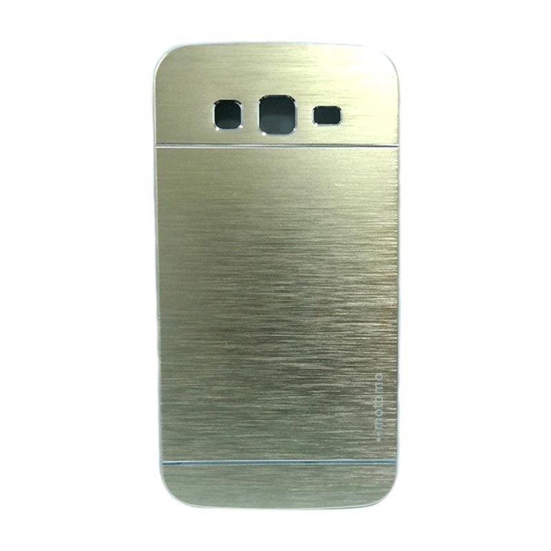 Motomo Metal Gold Casing for Samsung Galaxy Grand 2 (G7106)