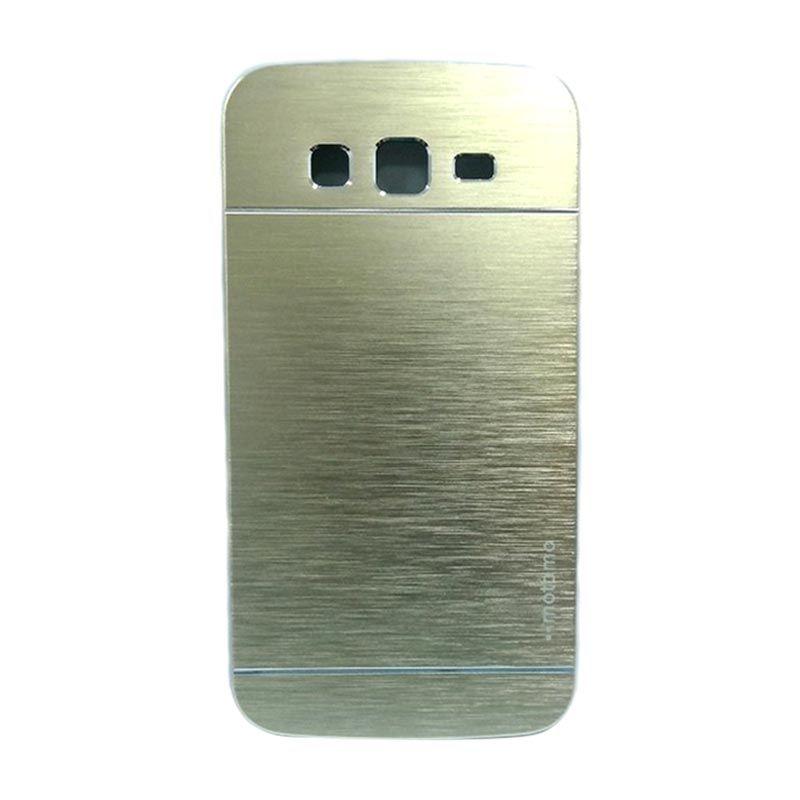 Motomo Metal Gold Casing for Samsung Galaxy Grand (i9082)