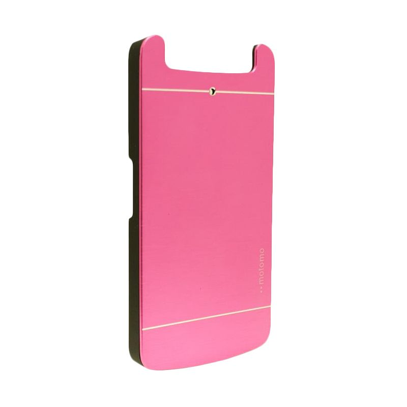 Motomo Metal Hot Pink Casing for Oppo N1 Mini