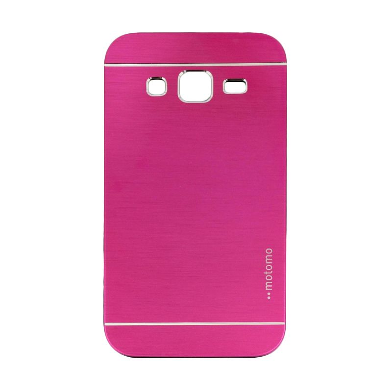 Motomo Metal Hot Pink Casing for Samsung Galaxy Core Prime