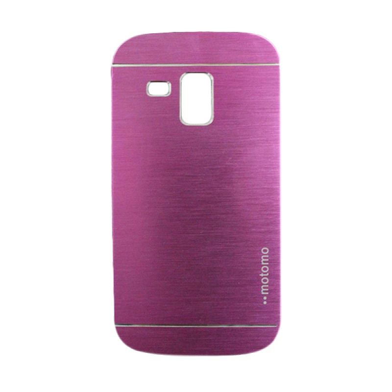 Motomo Metal Hot Pink Casing for Samsung Galaxy S Duos