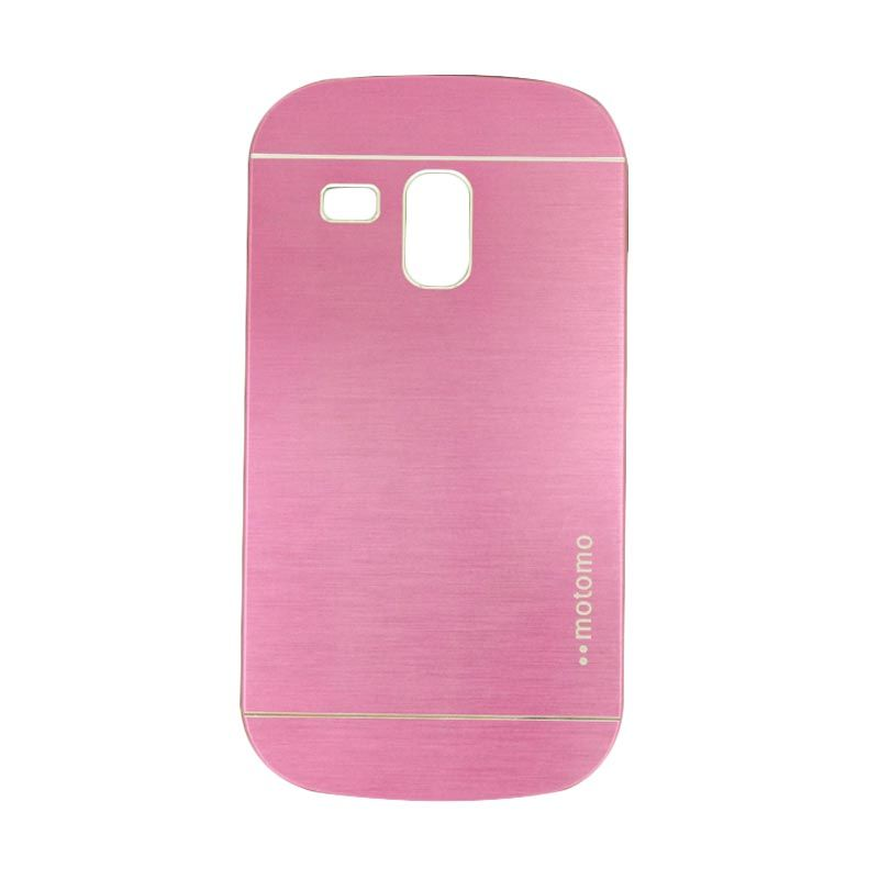 Motomo Metal Hot Pink Casing for Samsung Galaxy S3 Mini
