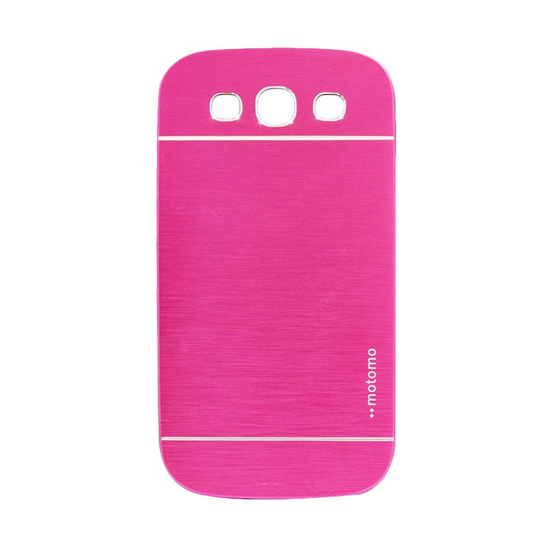 Motomo Metal Hot Pink Casing for Samsung Galaxy S3