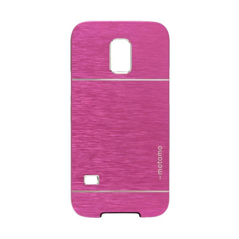 Motomo Metal Hot Pink Casing for Samsung Galaxy S5 Mini