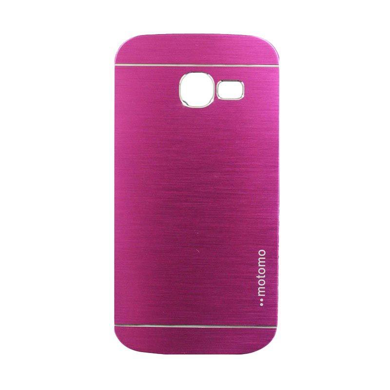 Motomo Metal Hot Pink Casing for Samsung Galaxy Star Pro